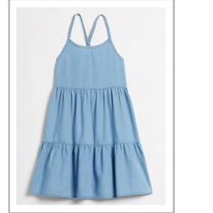 Girls GAP Tiered Dress